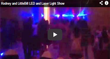 Bogart Entertainemnt Laser and Led Light show