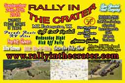 Bogart Entertainment will DJ and Emcee Rally In The Crater 2015