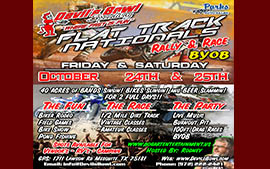 Devils Bowl Speedway Flat Trac Rally